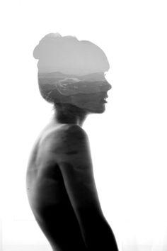 Aneta Ivanova's Beautiful Double Exposure Portraits - My Modern Metropolis