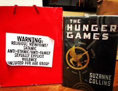 Another #BannedBook for #bannedbooksweek. Yes, #TheHungerGames was challenged for being anti-ethnic, anti-family, sexually explicit, satanic, and violent.  #sigh #teachersfollowteachers #bannedbooksweek2015 #ALA  #books #teachertalktuesday #teachersofinstagram #iteachtoo #yalit #literature #hungergames #smh