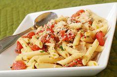 Easy Pantry Tuna Pasta using Lower Carb Dreamfields brand pasta
