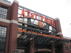 SF Giants! AT&T Ball Park in San Francisco, CA