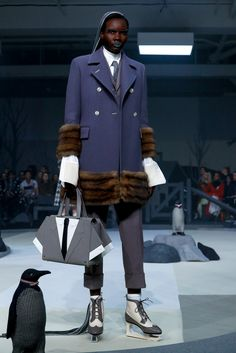 Mr. Browne shows his fall collection.