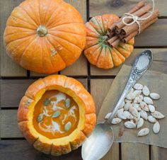 Seasonal Recipe: Whole Pumpkin Soup