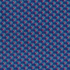 Tissu écailles fantaisie bleu denim x 10cm