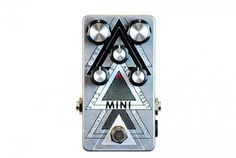 effects pedal, mini overdrive, fuzz, screenprinted, for guitar, bass www.smallsoundbigsound.com