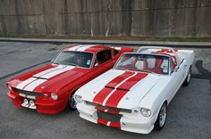 FORD MUSTANGS ~His and Hers