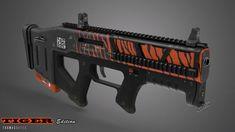ArtStation - Assault weapon design, Thomas Oates