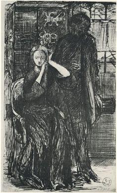 Dante Gabriel Rossetti, D.G. Rossetti and Elizabeth Siddal.