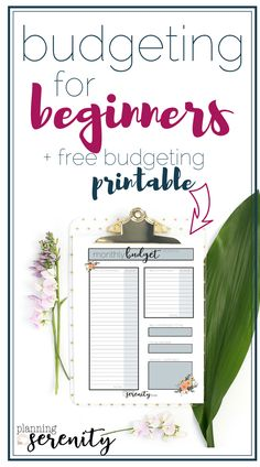 Budgeting for Beginners: How to Make a Budget! Love this!! Need to budget better, & this is a great how-to!! #budget #budgeting #howtobudget