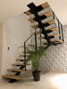 Incredible interior design inspiring for you storage kidsroom Staircase Design Modern, Stair Railing Design, Home Stairs Design, Duplex House Design, Modern Stairs, Stair Decor, Interior Stairs, Modern House Design, Home Interior Design