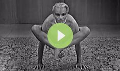 Have you ever wondered what it would be like to practice with B.K.S. Iyengar?