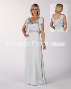 US $163.59 Charming Beading A-Line V-Neck Floor-length Mother of the Bride Dresses