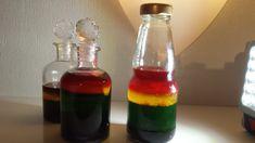 La rainbow bottle