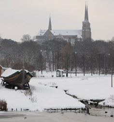 Roskilde in winter