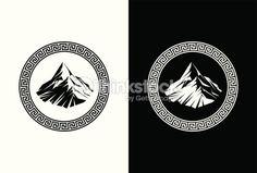 Clipart vectoriel : Mont Olympus