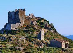 Castillo de Trevejo (Sierra de Gata, Extremadura)