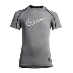 8b8baccd099 Nike Pro Big Kids' (Boys') Short Sleeve Training Top Size Boys Fall