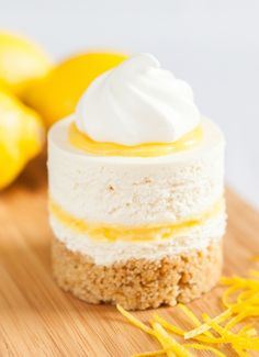 Low FODMAP & Gluten free Recipe - Lemon cheesecake http://www.ibssano.com/low_fodmap_recipe_lemon_cheesecake.html