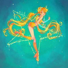 Stella- Magic Winx by LadyShalirin on DeviantArt Overwatch Mercy, Overwatch Tracer, Winx Club, Winx Magic, Les Winx, Flora Winx, Fanart, Fairy Princesses, Anime