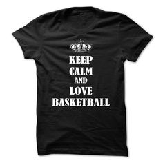 Keep Calm and Love Basketball T Shirts, Hoodies, Sweatshirts. GET ONE ==> https://www.sunfrog.com/Sports/Keep-Calm-and-Love-Basketball.html?41382