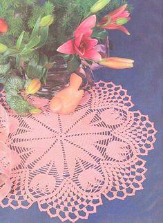 Tissage Arts en crochet: Trois Toalhinhas Tulipes pour vous!