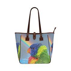 Rainbow Lorikeet Classic Tote Bag. FREE Shipping. #artsadd #bags #parrots
