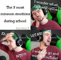 Omg the last 2 are me at school