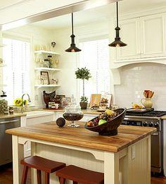 love the brightness of this kitchen.