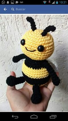 Kitty Abeja Amigurumi : abeja Willy amigurumi, Willy bee amigurumi Ape Maya ...