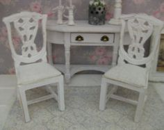 A single chair for the dollhouse in scale 1:12