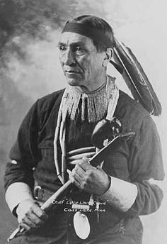 Little White Cloud - Ojibwa – 1915 Georg B. Selkirk aka Chief Litle White Cloud, Cass Lake Ojibway