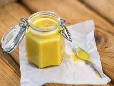 Vahva kotitekoinen sinappi