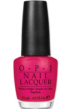 Minnie Mouse-Inspired #OPI Nail Polish in I'm All Ears http://news.instyle.com/photo-gallery/?postgallery=107320#3