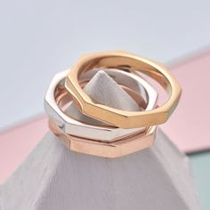 Gold And Silver Stacked Ring Set - what's new