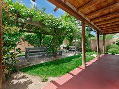 back yard  1122 E Alameda St, Santa Fe, NM