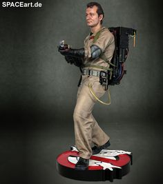 Ghostbusters: Dr. Peter Venkman, Statue ... https://spaceart.de/produkte/ghb003.php