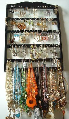 Elegant 54 Pair Earring Holder  20 PEG by JewelryHoldersForYou
