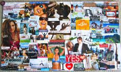 create a vision board to become a better YOU!
