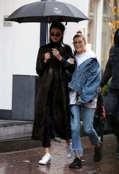 Kendall Jenner And Hailey Baldwin Out In Amsterdam