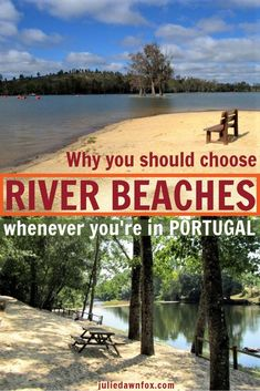 Shortly after moving to Portugal, I discovered the joys of wild swimming in Portuguese river beaches. Here's why I prefer them to coastal beaches Travel Destinations Beach, Europe Travel Tips, European Travel, Beach Travel, Holiday Destinations, Best Countries To Visit, Cool Places To Visit, Best Places In Portugal, Portugal Travel