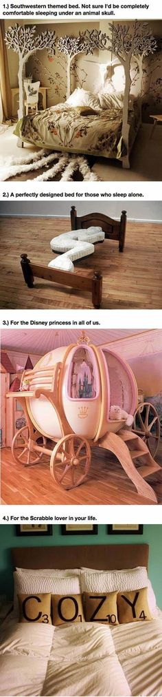 25 Amazing Beds Will Make You Wish It Was Nap Time. This is a difficult decision...... I want #25 but I wouldn't turn any of them down!