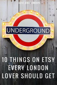 London lovers, these are the cutest London-themed things on Etsy. Buy a London-inspired gift for someone who's visited London or get it for yourself!