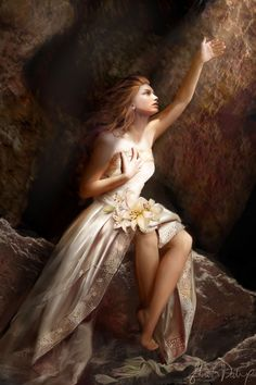 Persephone, Greek Goddess of Spring and Queen of the Underworld. Description…
