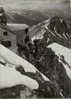 Italian emplacement on the Dolomitic front, WWI