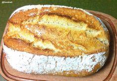 Baking an olympic wheat sourdhough bread - Ich backe ein olympisches Weizenmischbrot mit Sauerteig - Fresh loaf from the oven