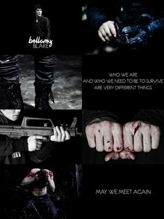 bellamy blake // the 100