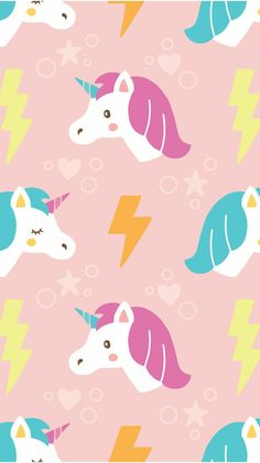 Find images and videos about cute, wallpaper and kawaii on we heart it - the app to get lost in what you love. Unicornios Wallpaper, Cute Wallpaper For Phone, Laptop Wallpaper, Pattern Wallpaper, Horse Wallpaper, Pink Unicorn Wallpaper, Unicorn Backgrounds, Rainbow Wallpaper, Toddler Girls