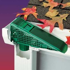 This gutter wedge is such a great idea! That would help you save so much time on gutter cleaning. I'm definitely going to have to get one of these.