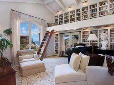 Kitap Okuma Odası ve Kitaplık #kitap #kitaplık