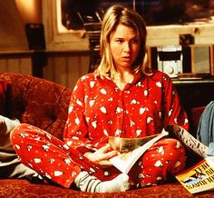 Bridget Jones. The older I get, the more my life seems to be like hers....dare I say with more vodka ;)