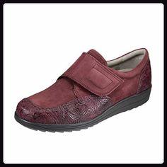 WALDLÄUFER - 329504 116 211 - Damen Slipper - Silber Schuhe in Übergrößen, Farben:Silber;Größe:38.5;Weite:H